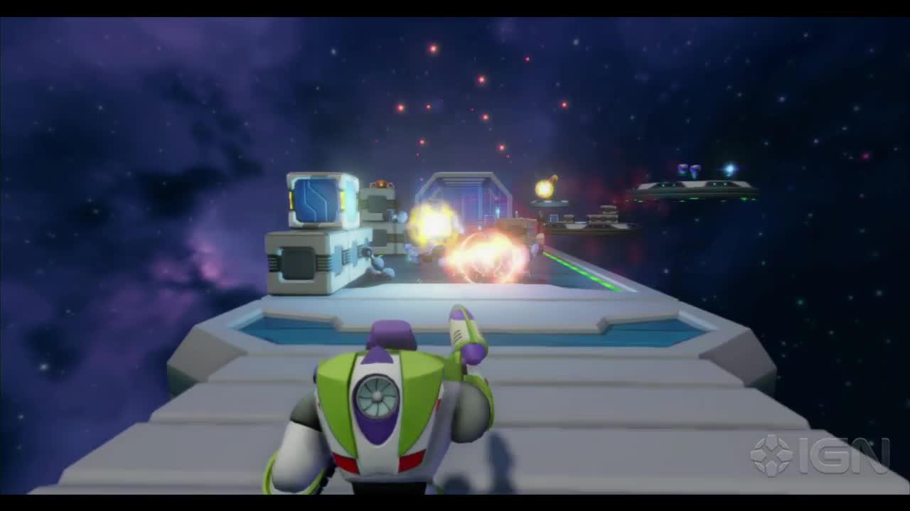 Disney Infinity Toy Story in Space Review Commentary