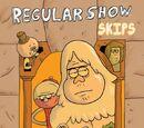 Regular Show: Skips (Número 1)/Páginas