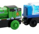 Percy and the Engine Wash Car