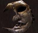 月亮面具壁飾