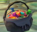 Cauldron Candy Bag