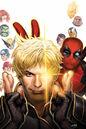Longshot Saves the Marvel Universe Vol 1 1 Textless Deadpool Variant.jpg