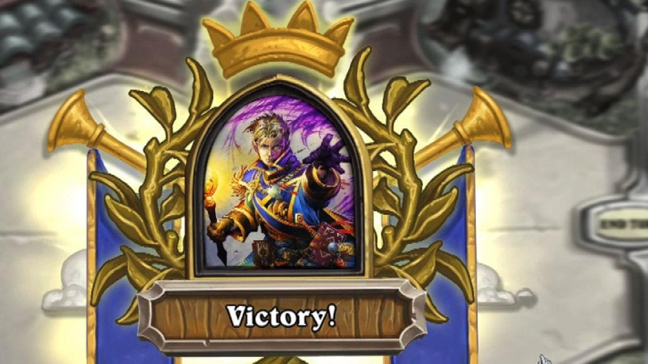 Hearthstone Heroes of Warcraft - Priest vs. Hunter Fireside Duel