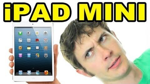 IPAD MINI COMMERCIAL PARODY