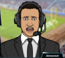 Unnamed sports announcer