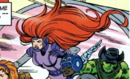 Medusa Moonrider (Earth-9602) from Challengers of the Fantastic Vol 1 1 0001.png