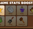 Game Statistic Boosts