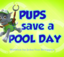 Pups Save a Pool Day's Pages