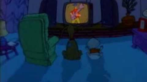 """Rugrats Unaired Pilot Episode """"Tommy Pickles and the Great White Thing""""."""