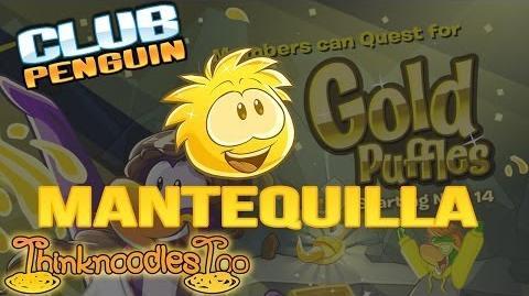 Club Penguin My Mantequilla Puffle!