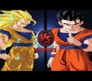 Goku Super Saiyajin 3 vs Gohan Definitivo