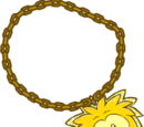 Gold Puffle Chain