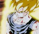Goku Super Saiyajin (sin daño) vs Freezer Forma Final (sin daño)