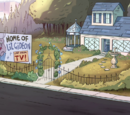 Gleeful residence