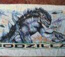 Godzilla Beach Towel
