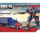 Instructions Optimus Prime