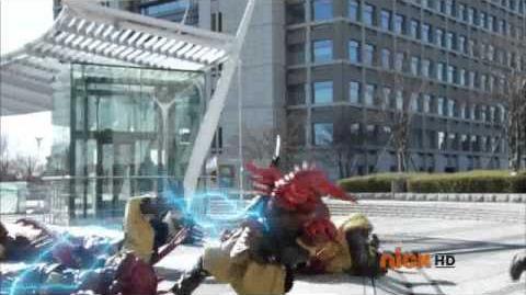 Power Rangers Samurai Episode 1 Part 2