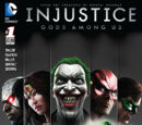Injustice: Gods Among Us/Covers