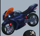 The Motorcycle And Helmet Of Casey Jones