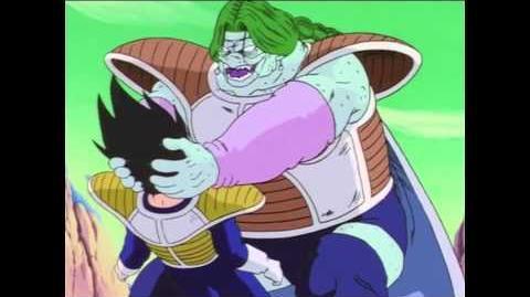 Dragon Ball Z Vegeta vs Zarbon