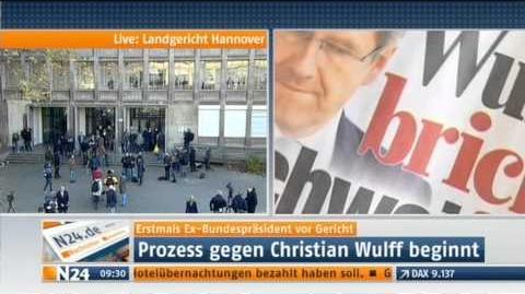 """Christian Wulff Die Rolle der """"Bild""""-Zeitung """"die Medien"""" die Präsidenten-Affäre vor Gericht"""
