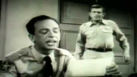 """Deadeye Dickie"" Barney Fife"