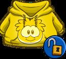 Gold Puffle Hoodie
