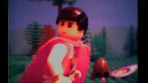 Brickfilm LEGO feature length film 'The Wars of Darkness Part 1'