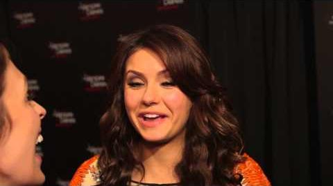 Nina Dobrev Talks Elena vs Katherine & Favorite Vampire Diaries Fan Moments