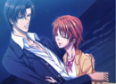 Ren and Kyoko in each others arms.png