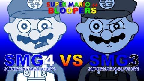 Super Mario 64 Bloopers: SMG4 VS SMG3