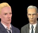 Sims que amam a comida grude à carbonara
