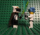 Clone Gunner Commander Jedi vs Hikaru
