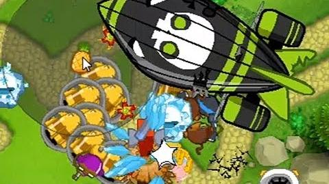 Bloons Monkey City Level 23 ZOMG on grass terrain - NLL