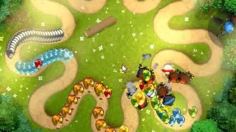 Bloons Monkey City - Level 22 - Tranquil Glade
