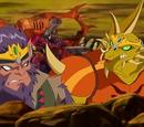 Mipedian Warriors