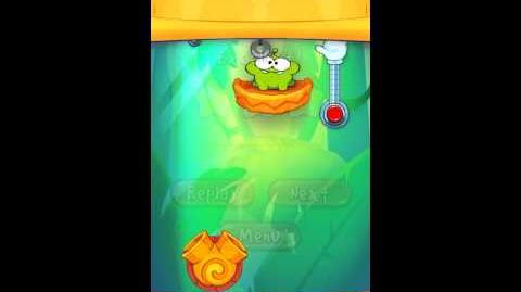 Cut The Rope: Experiments - Bamboo Chutes Level 8-3