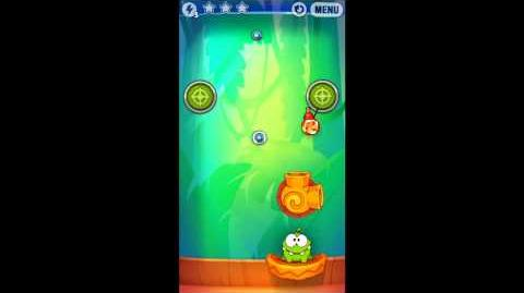 Cut The Rope: Experiments - Bamboo Chutes Level 8-5