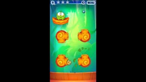 Cut The Rope: Experiments - Bamboo Chutes Level 8-6