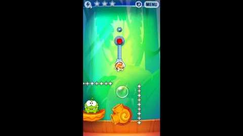 Cut The Rope: Experiments - Bamboo Chutes Level 8-10