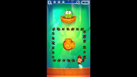 Cut The Rope: Experiments - Bamboo Chutes Level 8-14