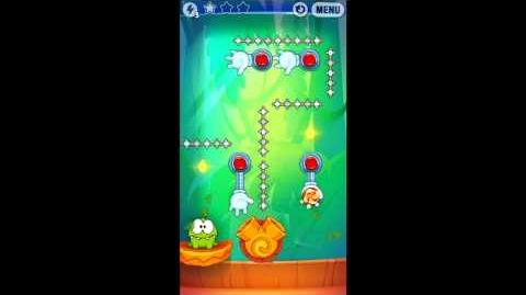 Cut The Rope: Experiments - Bamboo Chutes Level 8-16