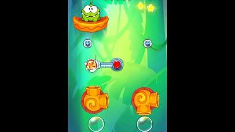 Cut The Rope: Experiments - Bamboo Chutes Level 8-22