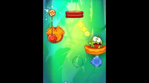 Cut The Rope: Experiments - Bamboo Chutes Level 8-25