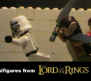 Minifigures from Lord of the Rings