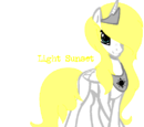 Princess Light Halo Sunset