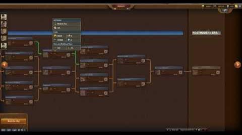 Modern Era(Age) Forge Of Empires Tech Tree, Buildings HD