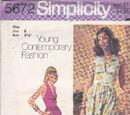 Simplicity 5672