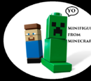 Minifigures from Minecraft