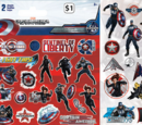 Captain America: The Winter Soldier Reusable Sticker Book